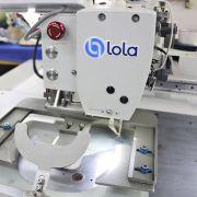 Máquina de Costura na Aba Reta Automática Filigrana